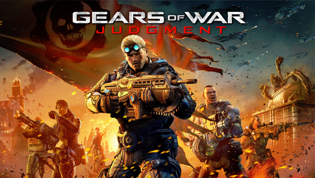 Gears of War, Judgment, Recension, Screenshot, Logo