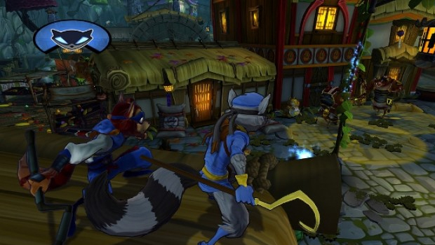 Sly Cooper, Thieves In Time, Screenshot, Wild West, Västern