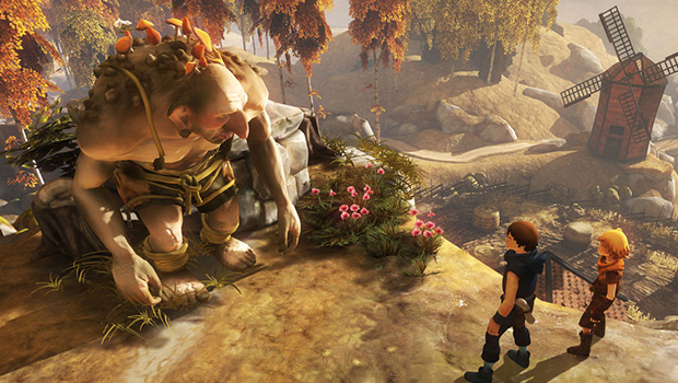 Brothers, A tale of two sons, game, Fares, Game, Spel, Recension, Screenshot, Troll