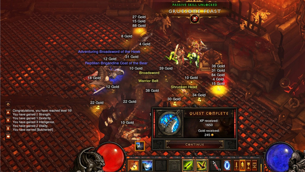 D3, Diablo 3, Screenshot, Bild, Image, Battle, Combat