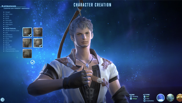 final fantasy xiv a realm reborn, character creation,