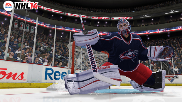 NHL 14, EA, Recension, Review, Hockey, Xbox 360, PS3, Goalie