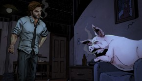 The Wolf Among Us, Pig, Cover, Tell Tale Games,