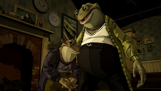 The Wolf Among Us, Toad, Frog, Tell Tale Games, Froggie, Game